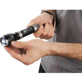 Customized Garrity Mega Zoomin 1 Watt Flashlight