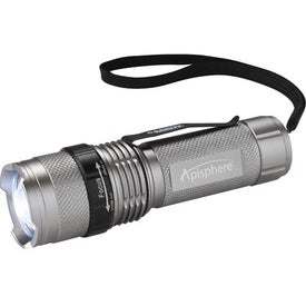 Monogrammed Garrity Mini Tactical Dual Output Flashlight