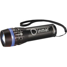Customized Garrity Zoomin 1 Watt Flashlight