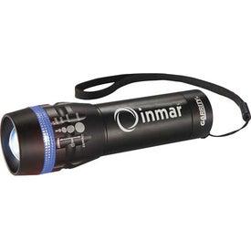 Customized Garrity Zoomin 1 Watt Flashlight