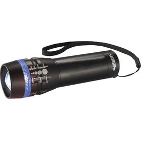 Imprinted Garrity Zoomin 1 Watt Flashlight
