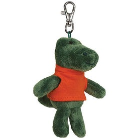 Branded Plush Key Chain