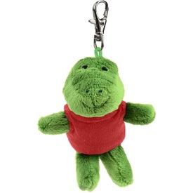 Gator Plush Key Chain