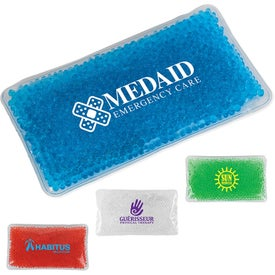 "Gel Bead Hot and Cold Pack (7.5"" x 4.5"" x 0.75"")"