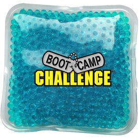 Gel Bead Hot and Cold Pack Branded with Your Logo