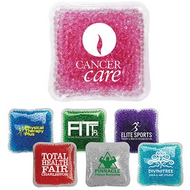 Logo Gel Bead Hot/Cold Pack