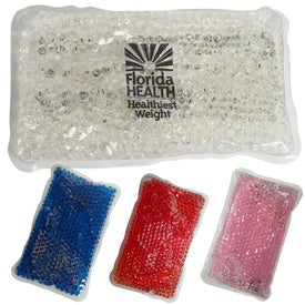 Gel Beads Rectangle Hot Cold Pack