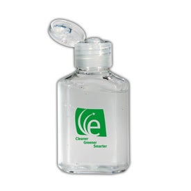 Hand Sanitizer Gel Squeeze Bottle (2 Oz.)