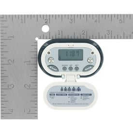 Gemstone BMI and Body Fat Pedometer for Advertising