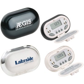 Gemstone BMI and Body Fat Pedometer