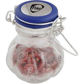 Imprinted Genie Candy Jar