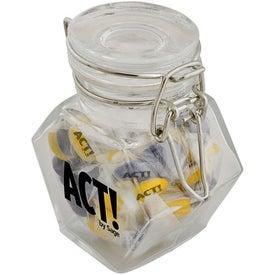 Custom Geometric Candy Jar