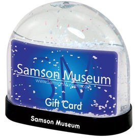 Gift Card Snow Globes