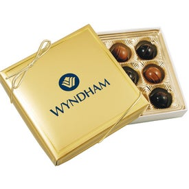 Logo Gift Box with Truffles