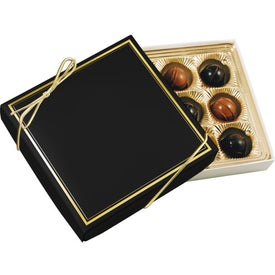 Gift Box with Truffles (12 Pieces)