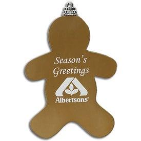 Logo Gingerbread Man Ornament