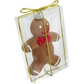 Branded Gingerbread Man Ornament