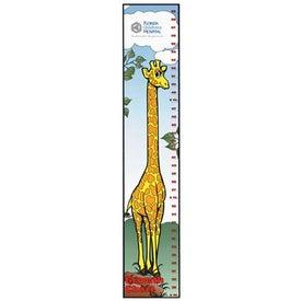 Imprinted Giraffe Growth Chart