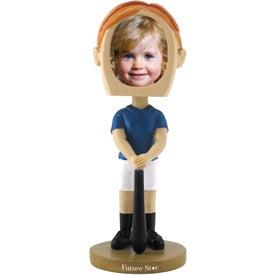 Girl's Softball Single Bobble Heads