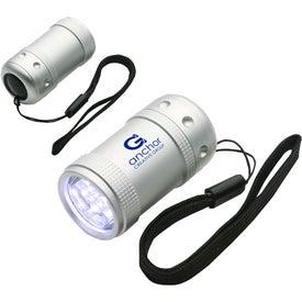 Personalized Aluminum Gizmo LED Light
