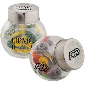 Custom Glass Penny Jar