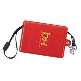 Branded Glory ID Holder with Lanyard