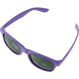 Imprinted Glossy Sunglasses