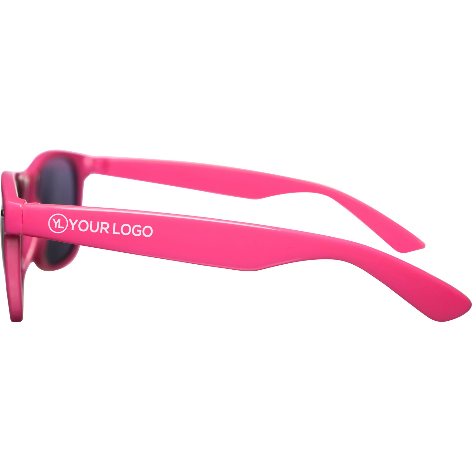 Promotional Glossy Sunglasses with Custom Logo for $1.30 Ea.