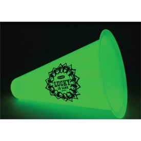 "Glow in the Dark 8"" Megaphone for Your Church"