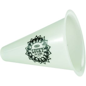 """Glow in the Dark 8"""" Megaphone for Promotion"""