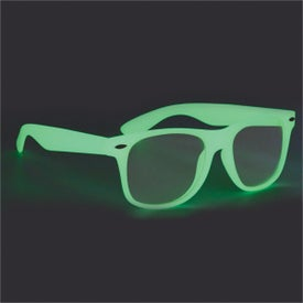 Glow-In-The-Dark Glasses with Clear Lenses for Your Church