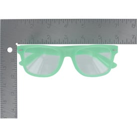 Glow-In-The-Dark Glasses with Clear Lenses for Marketing