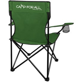 Go Anywhere Fold Up Lounge Chair for Advertising
