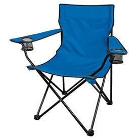 Go Anywhere Fold Up Lounge Chair with Your Slogan
