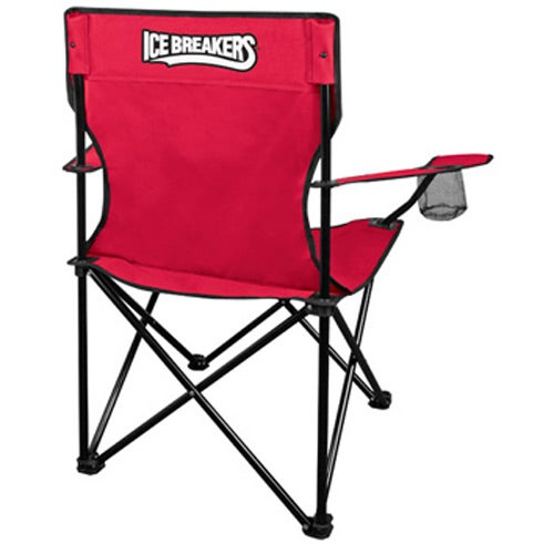 Promotional Go Anywhere Fold Up Lounge Chair with Custom Logo for $16 28 Ea