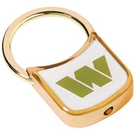 Gold Plated Zinc Alloy Key Holder with Dome