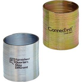 "Gold Silver Assortment Metal Spring (2"" Diameter)"