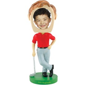 Golf Single Bobble Heads