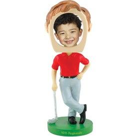 Golf Single Bobble Heads