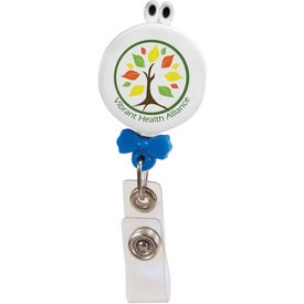 Googly-Eyed Bow Tie Badge Holder for Promotion