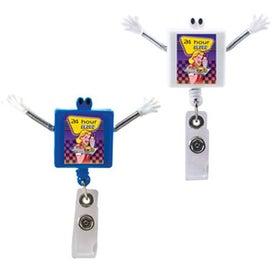 Googly Eyed Square Badge Holder