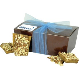 Gift Box with Gourmet Almond Toffee