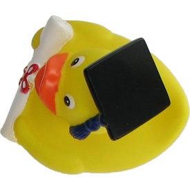 Monogrammed Graduate Rubber Duck