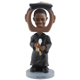 Graduate Boy Bobble Head