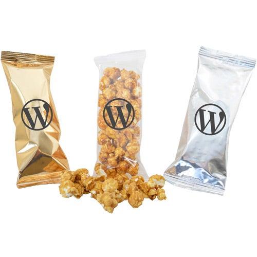 Gratuity Filled Bag Caramel Popcorn For Marketing