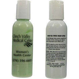 Promotional Green Tea Stress Relief Lotion