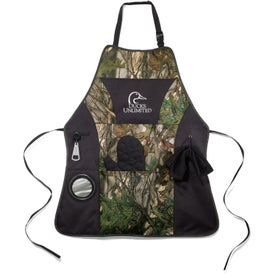 Grill Master Apron Kit (Unisex, Camo Tree/Black)