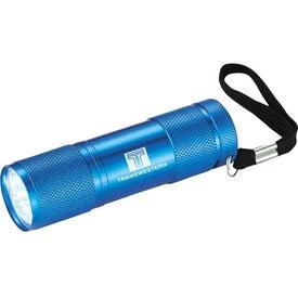 Promotional Gripper 9 LED Flashlight