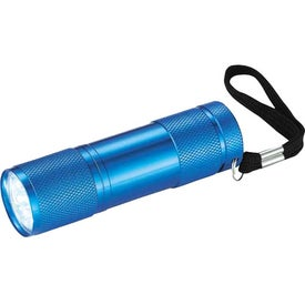 Gripper 9 LED Flashlight Branded with Your Logo