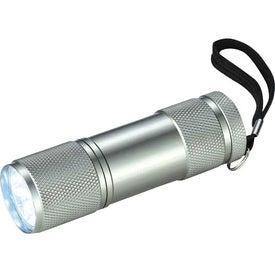 Printed Gripper 9 LED Flashlight
